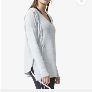 Vimmia Sweaters - Vimmia Lace-Up Long Sleeve